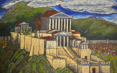 Greckie klimaty- wystawa prac