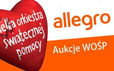 WOŚP- linki do aukcji Allegro